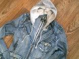 Джинсовая стильная куртка, фото №3