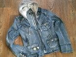 Джинсовая стильная куртка, фото №4