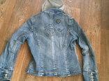 Джинсовая стильная куртка, фото №5