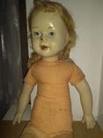 Кукла пресс.опилки паричковая 47см., фото №3