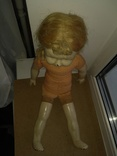 Кукла пресс.опилки паричковая 47см., фото №4