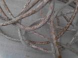 Провод в тканевой оплетке - 8 м (из 60-х), фото №4