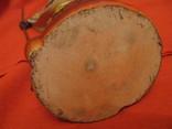 Статуэтка - Африка с копьём - полистоун - высота 25,5 см., фото №8