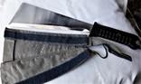 Нож - Мачете, ВВС СССР, №389 2014, из НАЗ - 7М, 1980е гг, в родной заточке, чехле, фото №12