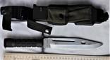 Штык-нож М9 №МК0433115, в родном чехле, Вооруженные Силы США, фото №4
