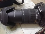 Canon 450D с объективом Sigma 18-200 DC OS, фото №6