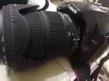 Canon 450D с объективом Sigma 18-200 DC OS, фото №8