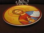 Настенная тарелка - Господь Вседержитель., фото №6