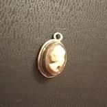 Старинная миниатюрная камея, фото №5