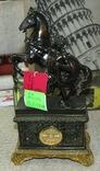 Часы интерьерные Спартанец с конем, фото №3