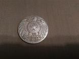 Медаль США настольная серебро 999 проба., фото №3