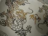 Декоративная кабинетная тарелочка на подставке - Драконы., фото №5