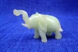 Слон и лягушка из оникса. Германия., фото №3