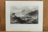 Антикварная гравюра Port Penryn and Bangor, фото №2