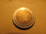2 евро 2002г, фото №2