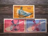 Гаинея 1962 Авиапочта - Отечественные Музыканты гаш серия