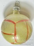 Елочная игрушка мяч, фото №2