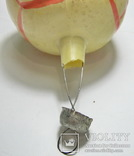 Елочная игрушка мяч, фото №6