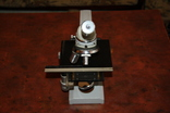 Микроскоп Ломо Р15 с препаратоводителем. №34, фото №3
