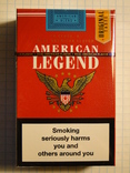 Сигареты American Legend