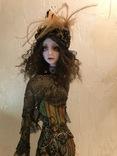 "Коллекционная авторская кукла «BUTTERFLY GIRL"", фото №3"
