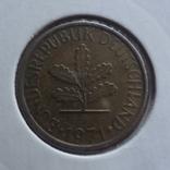 5 пфеннигов  1971  G  ФРГ  Холдер 62, фото №3