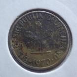 5 пфеннигов  1970  J  ФРГ  Холдер 65, фото №3