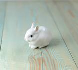 Статуэтка из фарфора Кролик Зайчик Royal Copenhagen, фото №3