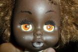 Кукла 40,5 см темнокожая черная, фото №4