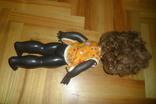 Кукла 40,5 см темнокожая черная, фото №7
