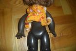 Кукла 40,5 см темнокожая черная, фото №8