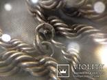 Цепочка из серебра, проба 875*., фото №7