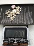 Серебрянный браслет 925 с подвесками посеребрение, фото №8