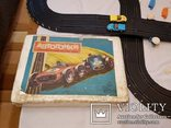 Трек 5 метров Рабочий  полный комплект СССР автогонки электромеханическая игрушка, фото №4
