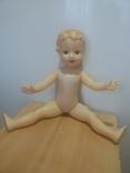 Кукла с рельефными волосами целлулоид, фото №3