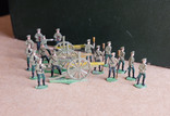 Солдатики оловянные - Германия -  РИА - артиллерия 1., фото №7