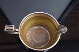 Посеребренные молочник, сахарница. Германия WMF G, Поднос метал в подарок., фото №5