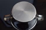 Посеребренные молочник, сахарница. Германия WMF G, Поднос метал в подарок., фото №11