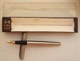 """Новая перьевая ручка """"Wing Sung-220"""" 1989 года. Пишет мягко и тонко., фото №2"""