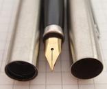 """Новая перьевая ручка """"Wing Sung-220"""" 1989 года. Пишет мягко и тонко., фото №7"""