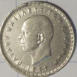 Греция 10 драхм 1959, фото №2