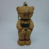 Брелок Мишка Тедди в сексуальном белье. 75мм, фото №4
