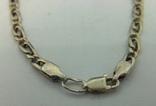 Цепочка серебро (№15), фото №6