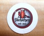 "Костер бирдикель  пиво ""Füchschen"", Германия, фото №3"