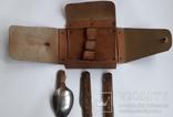 Набор туристический (Нож+вилка+ложка), фото №2