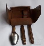Набор туристический (Нож+вилка+ложка), фото №3