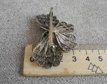 Сканевая брошь бабочка (серебро 925 пр, вес 10 гр), фото №7