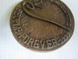 Настольная медаль-большая и тяжелая., фото №6