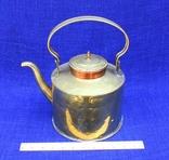 Старинный чайник конец 19 века. Германия. 4 лит фото 2