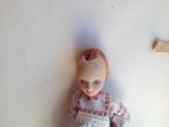 Фарфоровая кукла на резинках под востановление, фото №4